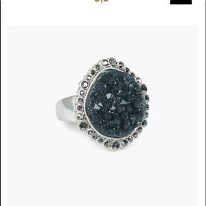 Lucky Brand Pava Druzy Statement Ring- NWT! Size 7